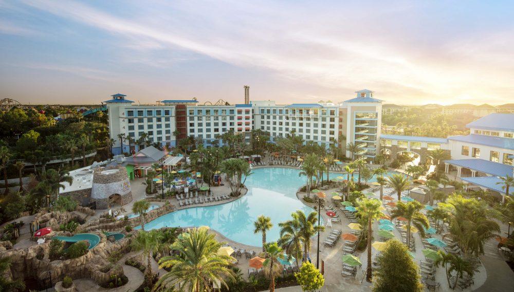 Universal Studios Orlando Resort Loews Sapphire Falls Resort