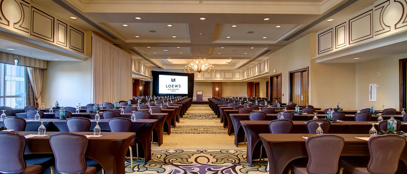 event venues meeting space in new orleans loews new. Black Bedroom Furniture Sets. Home Design Ideas