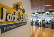Jack LaLanne Physical Fitness Studio Entrance