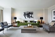 Nate Berkus Apartment Suite Living Area