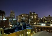 New York Rooftops at Night