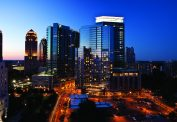 Midtown Atlanta Night View