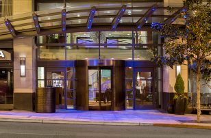 Hotel Entrance | Hotel 1000 | Loews Hotels & Resorts