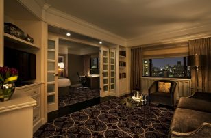 Grand Executive Suite Living Area | Loews Regency New York Hotel