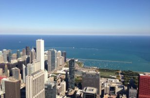 Sky Deck | Loews Chicago O'Hare Hotel | #WishYouWereHere Blog