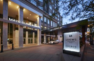 Loews Minneapolis Front Entrance Exterior