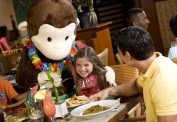Character Dining with Curious George
