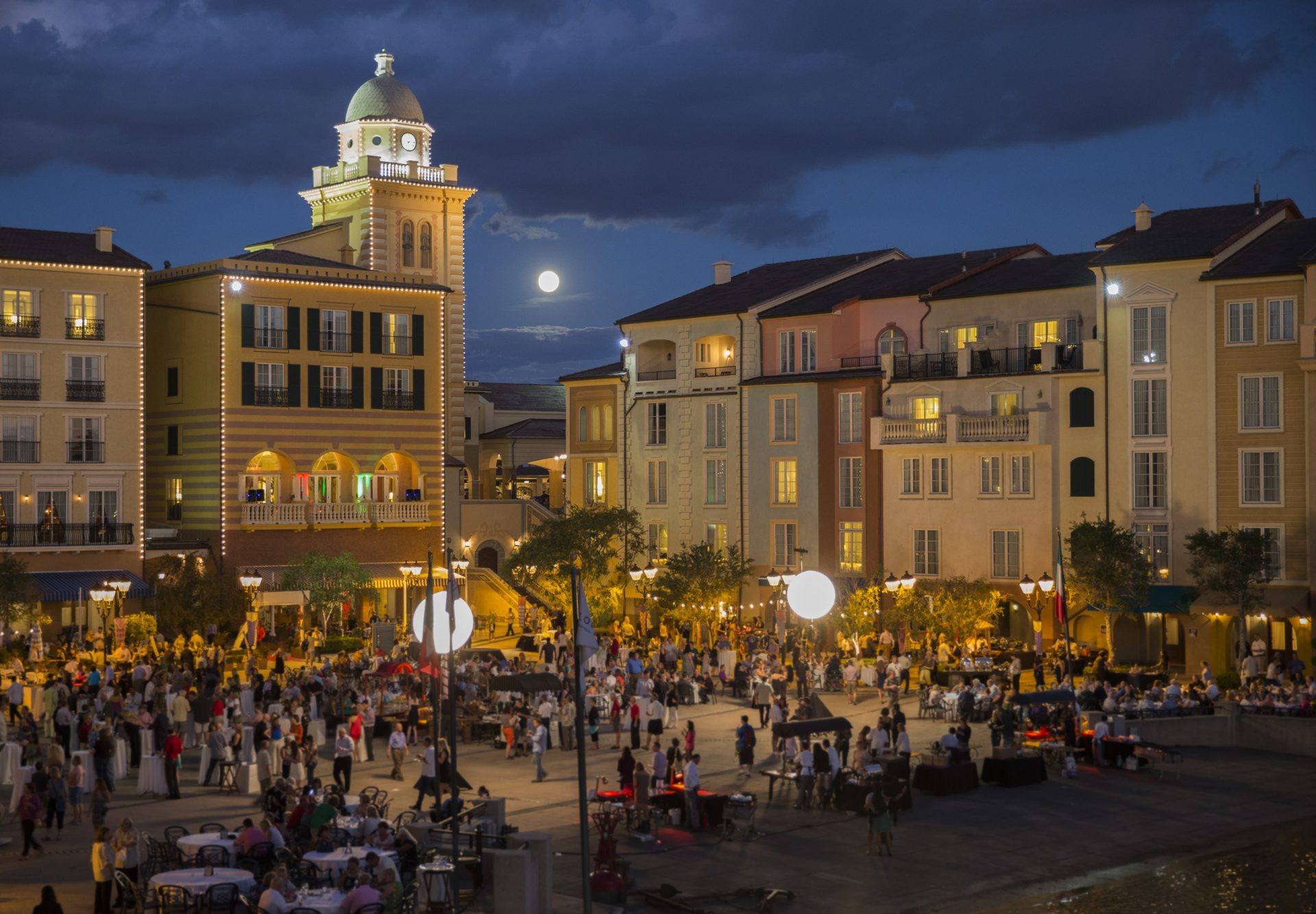 Universal Orlando Resort, Portofino bay.