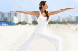 Yoga on Beach | Loews Miami Beach