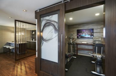 Poet Suite Fitness Area